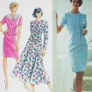 Simplicity 7670 sewing pattern misses two piece dress UNCUT sizes 4 6 8 10