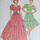Simplicity 6452 square dance dress sewing pattern size 18