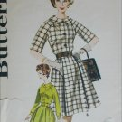 Butterick 2352 misses dress full skirt size 16 B36 circa 1960s vintage pattern