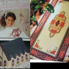 Classic Cross Stitch Magazine Herrschners collection patterns Dec 89