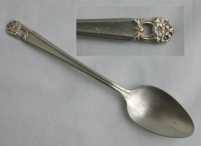 Rogers IS silver plate teaspoon Eternally Yours pattern