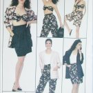 Simplicity 8622 misses bra top shorts jacket sizes 16 18 20 UNCUT sewing pattern
