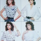 Butterick 6085 blouse sewing patterns sizes 18 20 22 UNCUT