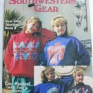 Leisure Arts craft leaflet Southwestern Gear fabric applique patterns