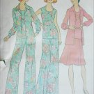 Simplicity 6854 misses skirt pants top jacket sizes 18 20 pattern 1974 vintage