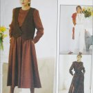 McCAll 5028 misses vest jumpsuit dress sizes 20 22 24 UNCUT sewing pattern