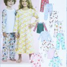 McCAll M5965 childs night gown tops pants sizes 4 5 6 UNCUT sewing pattern