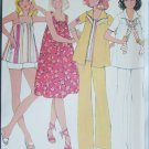 McCall 5545 Maternity size 12 B34 dress pants uncut top cut sewing pattern