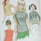 McCall 9409 misses blouse set size 16 B38 vintage 1968 sewing pattern