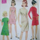 McCall 9087 misses A line dress size 12 B34 vintage 1967 sewing pattern
