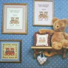 Cricket Collection cross stitch leaflet Love Bears No 8 patterns