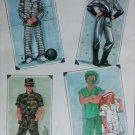 Simplicity 8890 adult costume pattern doctor nurse soldier prisoner spaceman UNCUT size S M