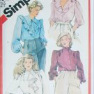 Simplicity 5621 misses blouses sewing patterns UNCUT size 20 1/2 half size
