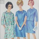 Simplicity 6978 misses jacket dress size 40 B42 vintage 1967 sewing pattern