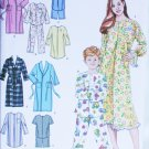 Simplicity 4388 uncut pajama nightshirt robe childs pattern sizes 3 4 5 6