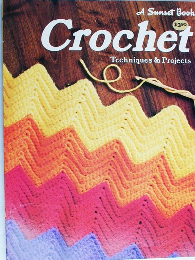 Sunset Crochet primer craft book with instructions techniques and projects