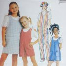 McCall 8125 girls overalls jumpsuit jumper sizes 4 5 6 UNCUT sewing pattern