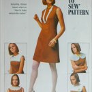 Simplicity 8060 dress with collars size 12 B34 vintage 1968 sewing pattern
