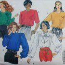 Butterick 5061 blouse misses 18 20 22 sewing pattern partially cut