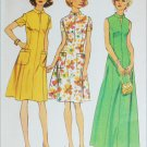 Simplicity 6276 misses long or short dress size 18 1/2 B41 pattern retro 1974