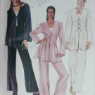 McCall 6886 unlined jacket tank top and pants sizes 16 18 20 UNCUT pattern