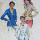 Butterick 6998 misses blazer jacket size 14 B36 sewing pattern
