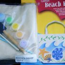 Creativity Kits Beach Bag to stencil and paint complete craft kit