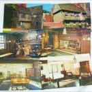 Set of 6 postcards Paul Revere House Boston MA