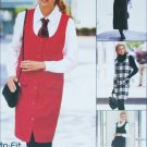 McCall 8456 misses jumper and shirt sizes 12 14 16 UNCUT sewing pattern 1996