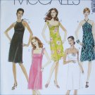 McCall 3243 misses summer dress sizes 4 6 8 10 UNCUT sewing pattern