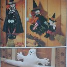 McCall 8330 Halloween broomstick witches ghost draft buster UNCUT pattern
