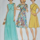 Simplicity 6395 vintage 1974 dress sewing pattern size 18 1/2 B41