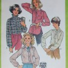 Simplicity 8738 womans blouse size 14 sewing pattern vintage 1978