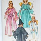 Simplicity 9052 child Halloween costume angel fairy princess witch size 6 to 8