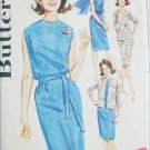 Butterick 2660 misses dress jacket scarf size 16 B36 vintage 1960s pattern