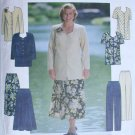 Simplicity 8001 sizes 18 W 20W 22W 24 W womans tunic skirt pants UNCUT sewing pattern