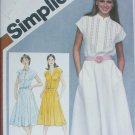 Simplicity 9894 misses pullover sleeveless dress size 14 B36 sewing pattern
