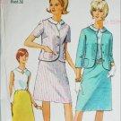 Simplicity 6549 misses suit size 18 B38 vinrtage 1966 sewing pattern