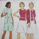 Butterick 3080 misses size 18 B40 dress and jacket circa 1970 pattern