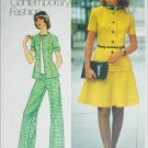 Simplicity 6791  misses two piece dress top pants size 18 B40 vintage1974 UNCUT pattern