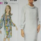 Simplicity 6780 vintage 1966 dress or 2 piece outfit size 18 B38 pattern