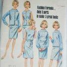 Butterick 4256 misses dress jacket blouse size 18 B38 vintage 1960s pattern