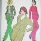 Simplicity 8240 misses shirt jacket pants UNCUT size 14 pattern 1977 vintage