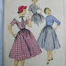 Advance 6831 vintage 1950s dress pattern size 10 bust 28 sewing pattern