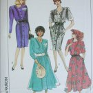 Simplicity 9246 misses dress sizes 6 8 10 12 14 UNCUT pattern 1989