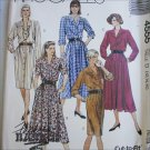 McCall 4555 misses dress sizes 12 14 16 UNCUT sewing pattern