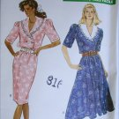 Butterick 6102 misses dress sizes 14 16 18 UNCUT sewing pattern