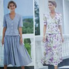 Butterick 6190 misses top and skirt sizes 12 14 16 UNCUT pattern