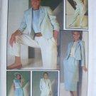 Simplicity 6743 UNCUT misses pants skirt blouse jacket size 14 pattern