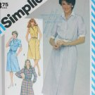 Simplicity 6375 shirtwaist dress misses sizes 12 14 16 UNCUT sewing pattern 1983